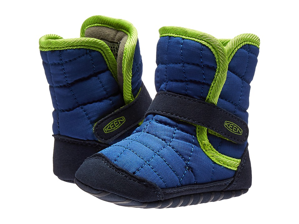 Keen Kids Rover Crib (Infant) (Blue/Macaw) Boys Shoes