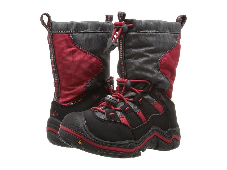 Keen Kids - Winterport II WP (Toddler/Little Kid) (Tango Red/Black) Boys Shoes