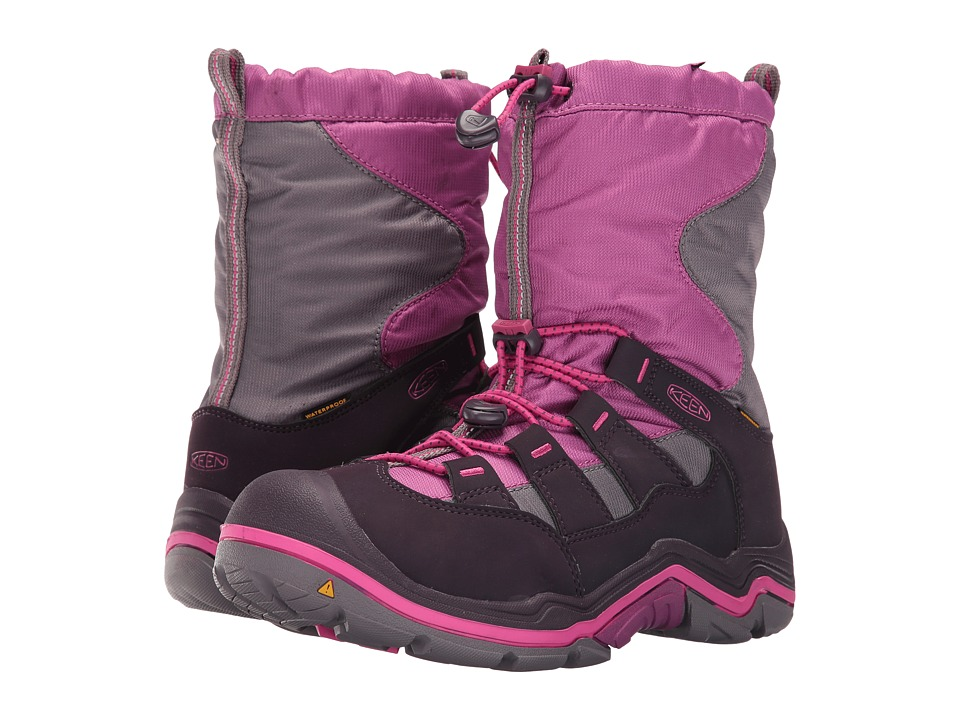 Keen Kids - Winterport II WP (Little Kid/Big Kid) (Purple Wine/Very Berry) Girls Shoes