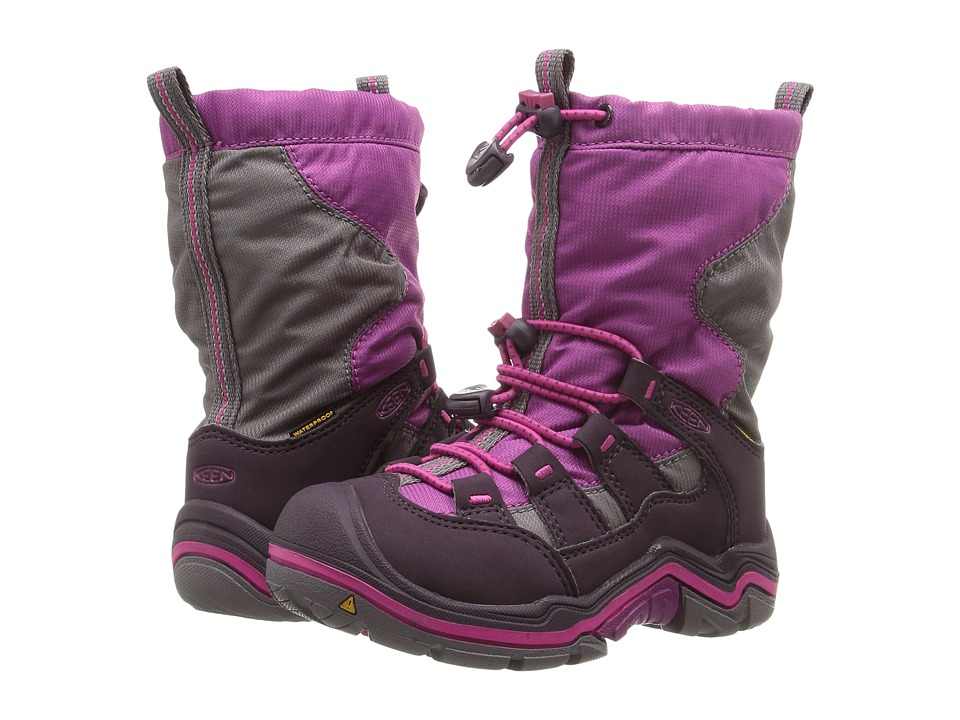 Keen Kids - Winterport II WP (Toddler/Little Kid) (Purple Wine/Very Berry) Girls Shoes