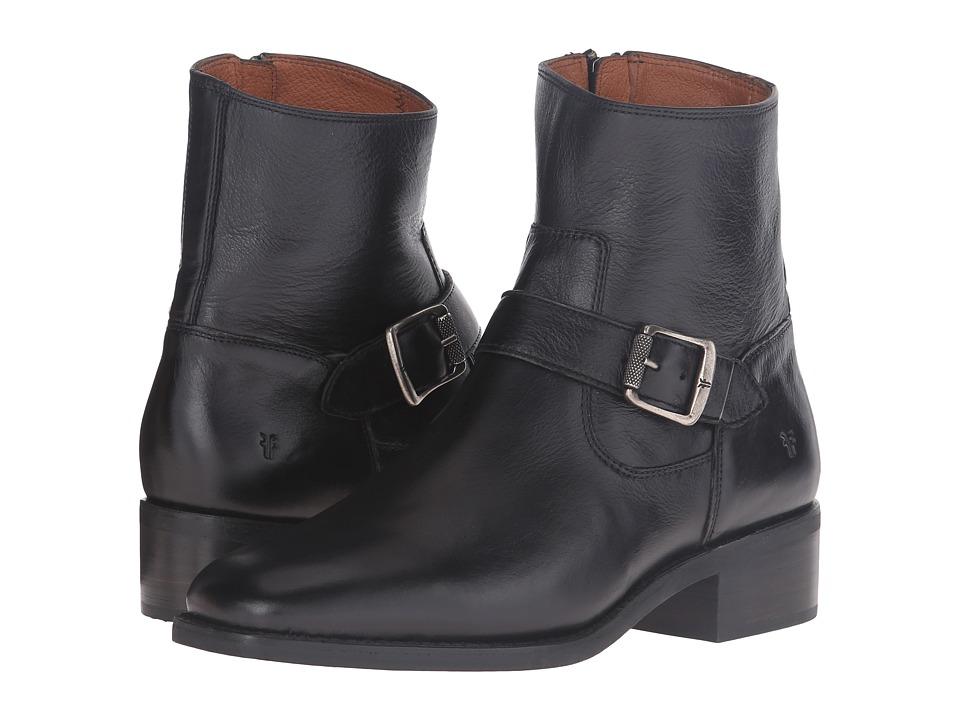 Frye - Hannah Engineer (Black Soft Full Grain) Women's Boots