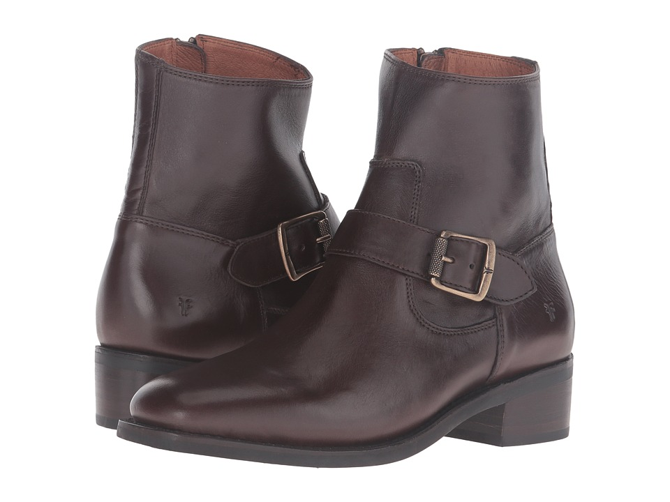 Frye Hannah Engineer (Chocolate Soft Full Grain) Women