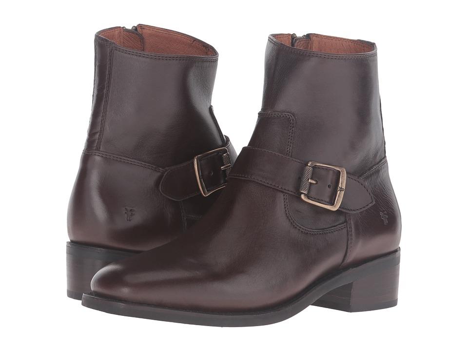 Frye - Hannah Engineer (Chocolate Soft Full Grain) Women's Boots