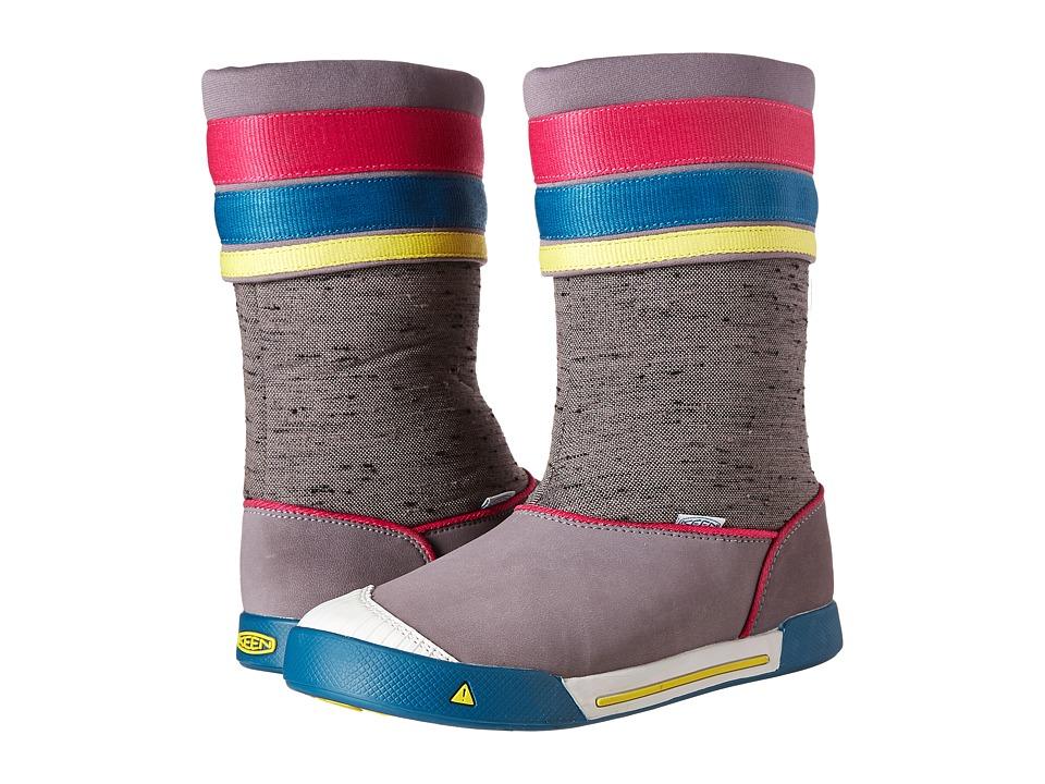 Keen Kids - Encanto Madison Boot (Little Kid/Big Kid) (Shark/Very Berry) Girls Shoes