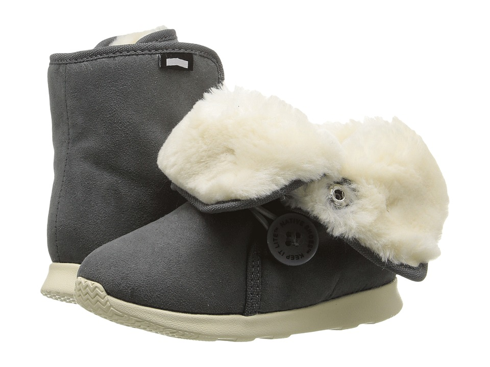Native Kids Shoes - Luna Child Boot (Toddler/Little Kid) (Dublin Grey/Bone White) Kids Shoes