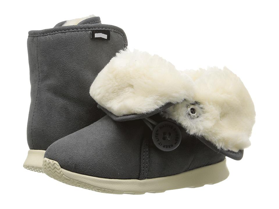 Native Kids Shoes - Luna Child Boot (Toddler/Little Kid) (Dublin Grey/Bone White) Kids Shoes