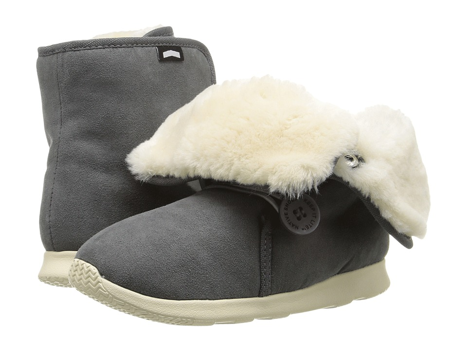 Native Kids Shoes - Luna Junior Boot (Little Kid) (Dublin Grey/Bone White) Kids Shoes