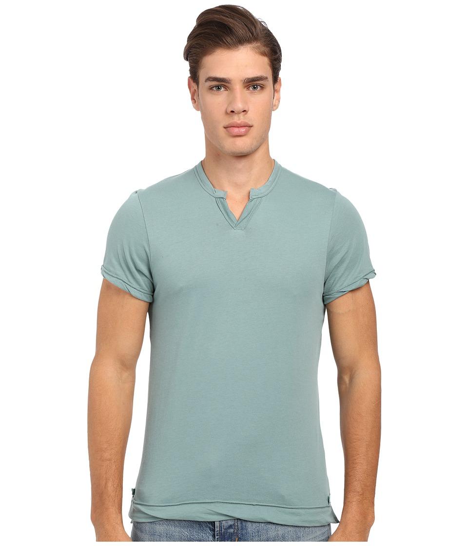 Alternative - Moroccan Tee (Green Surf) Men's Short Sleeve Pullover