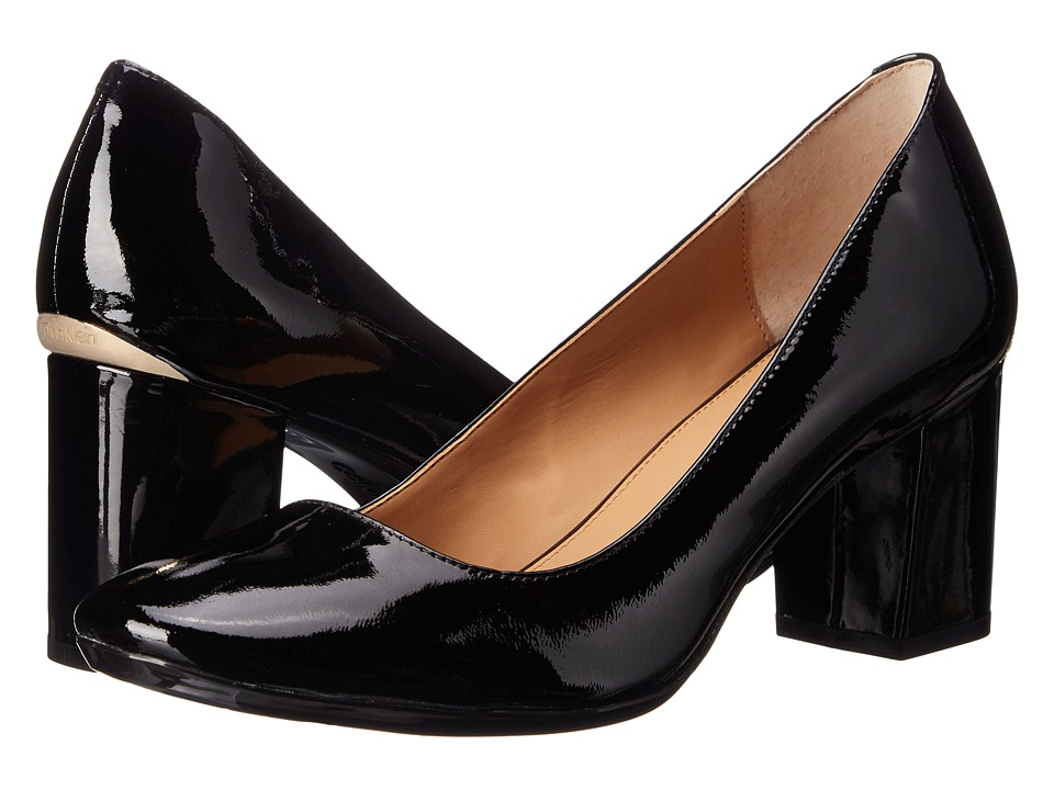 Calvin Klein - Cirilla (Black Patent Leather) High Heels