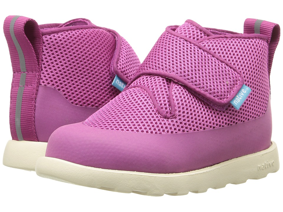 Native Kids Shoes - Fitzroy Fast Boot (Toddler/Little Kid) (Samba Pink/Dark Samba Pink/Bone White) Girls Shoes