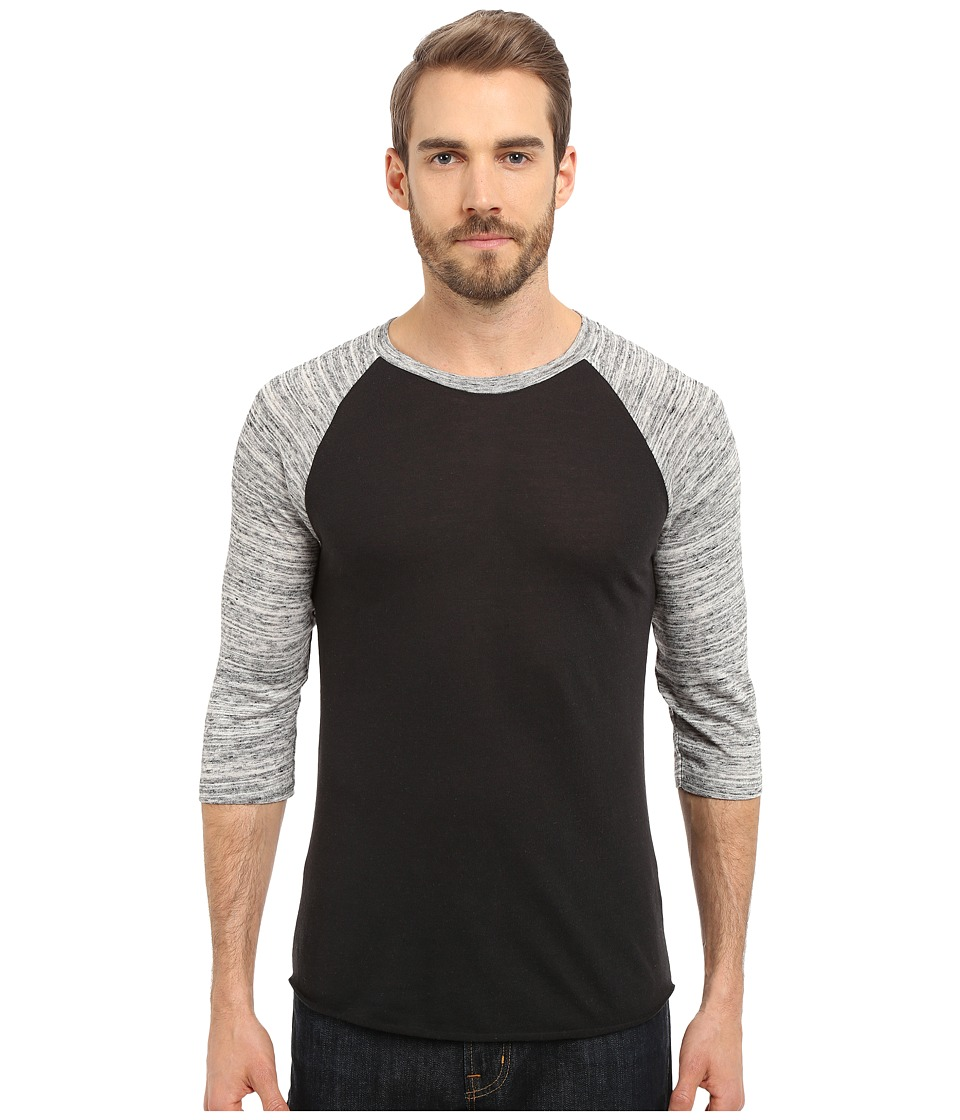 Alternative - Baseball Tee (Eco True Black/Urban Grey) Men's T Shirt