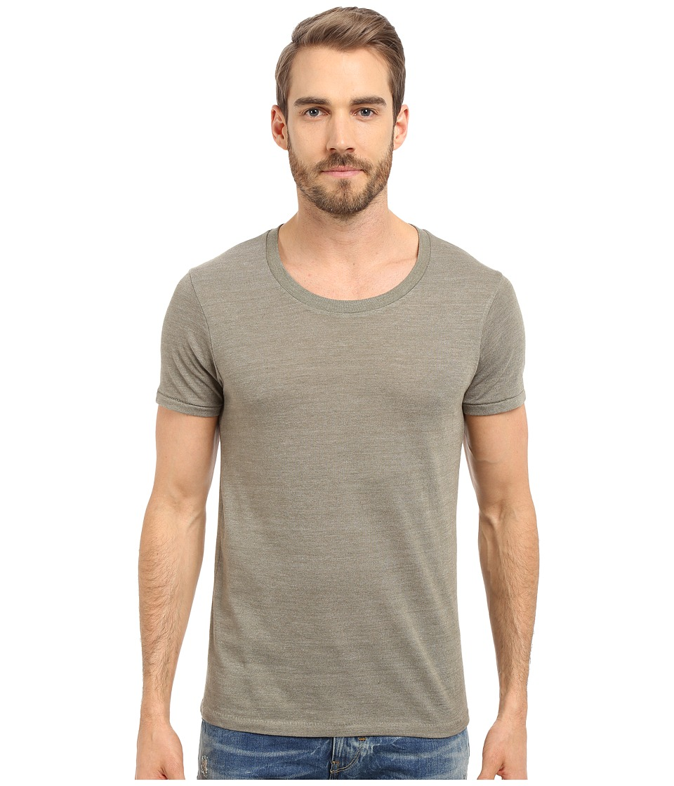 Alternative - Drop Neck Crew (Eco True Military) Men's T Shirt