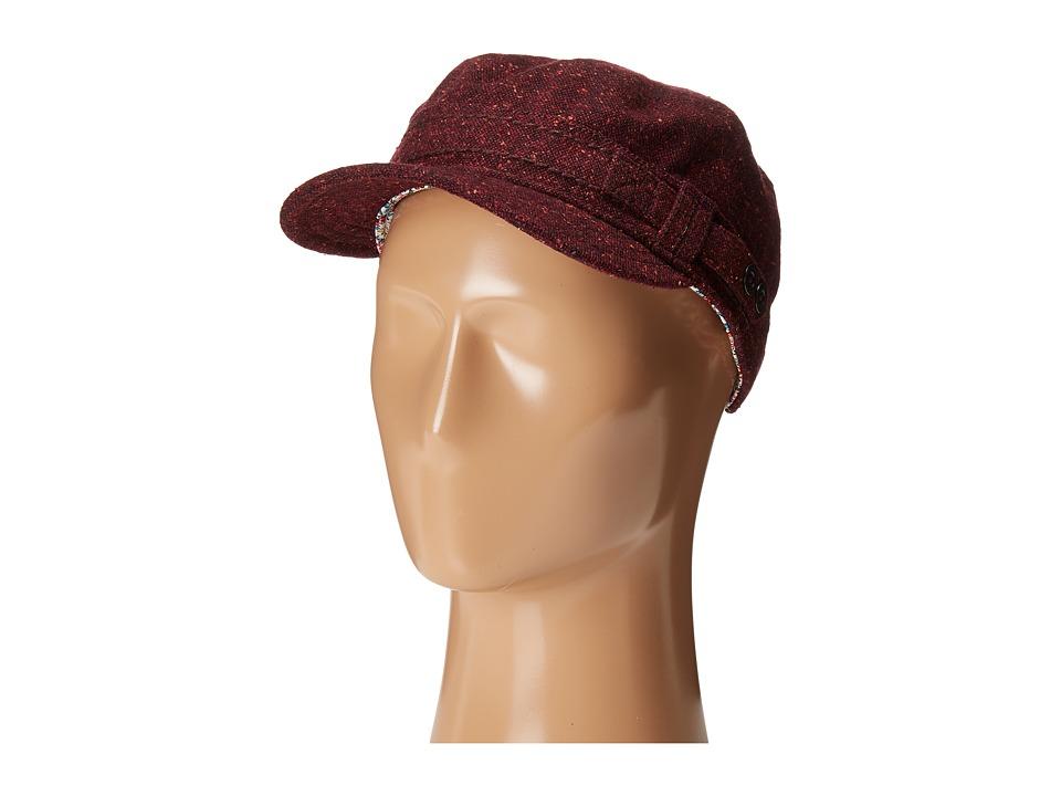 Prana - Jackie Cadet Hat (Burgundy) Caps