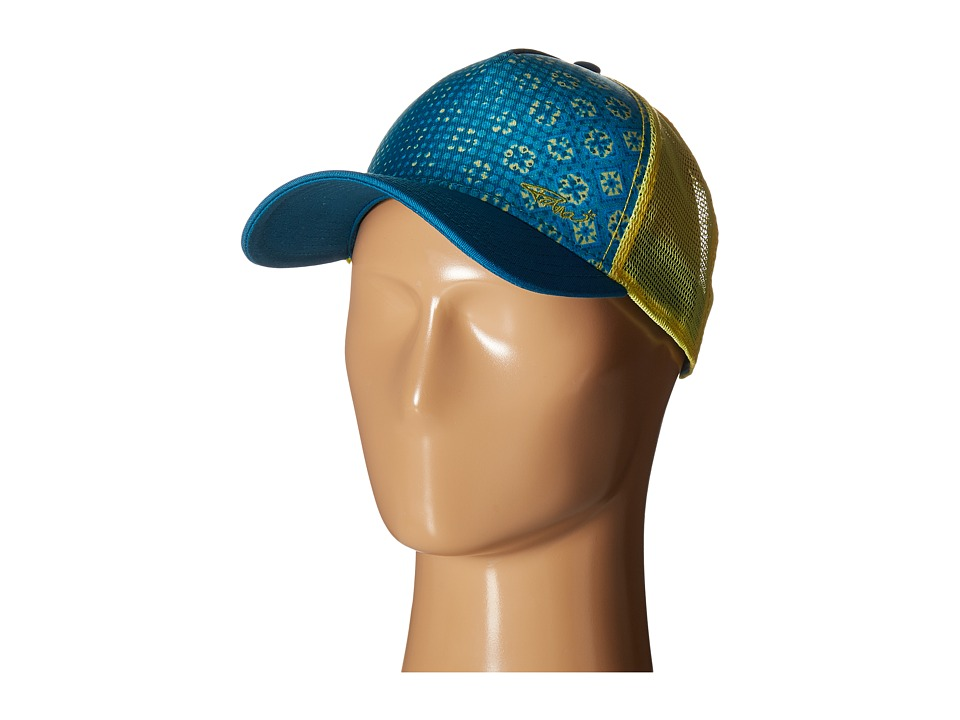 Prana - La Viva Trucker Hat (Harbor Blue) Caps