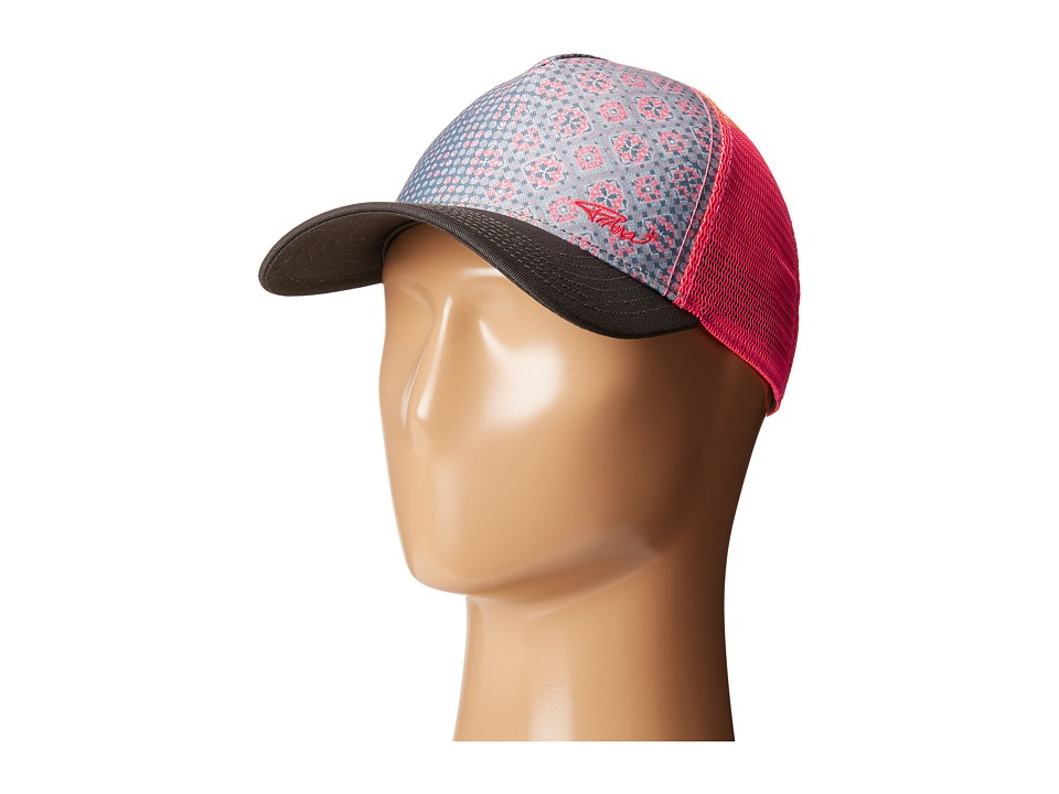 Prana - La Viva Trucker Hat (Neon Orange) Caps