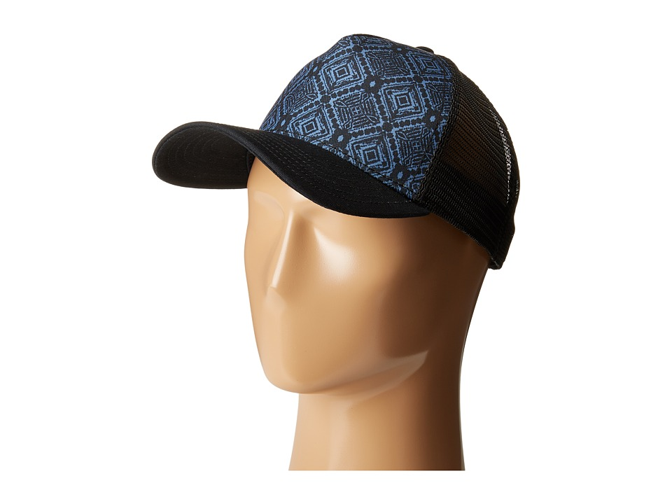 Prana - La Viva Trucker Hat (Black) Caps