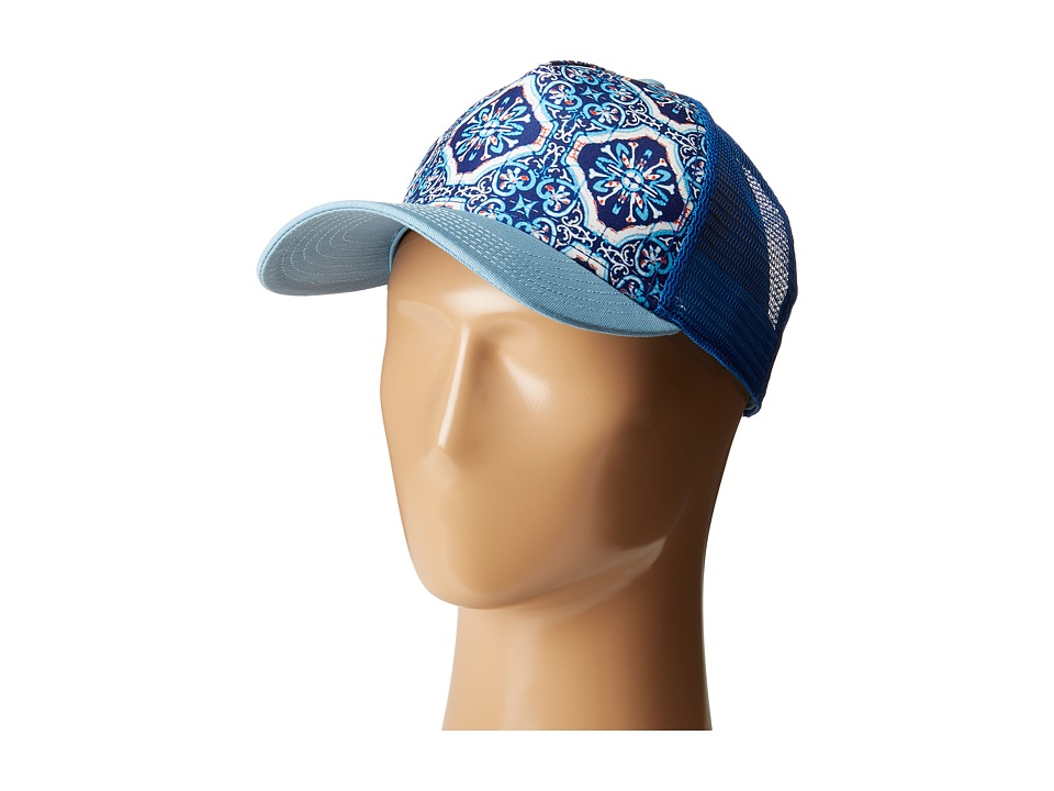 Prana - La Viva Trucker Hat (Dress Blue) Caps