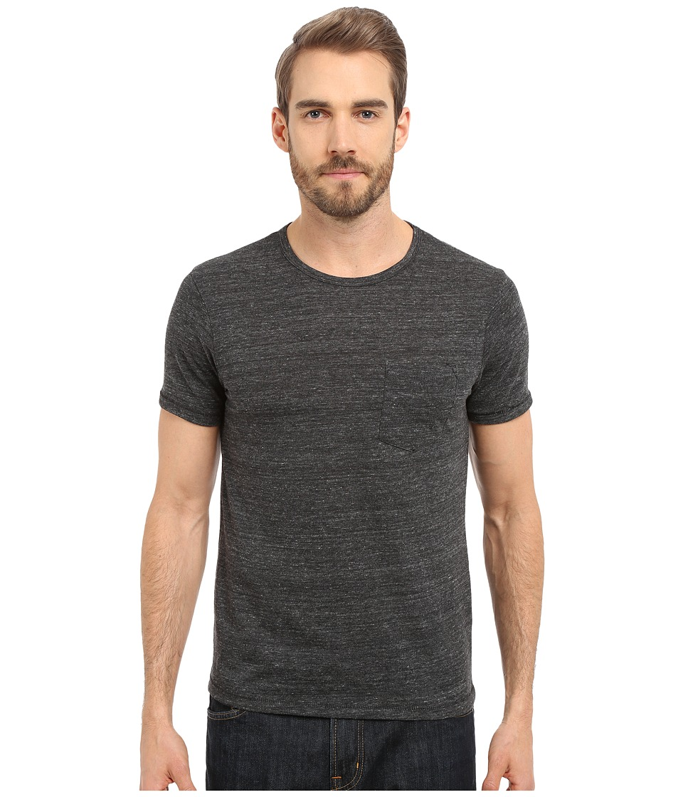 Alternative - Pocket Crew (Eco Black) Men's Short Sleeve Pullover