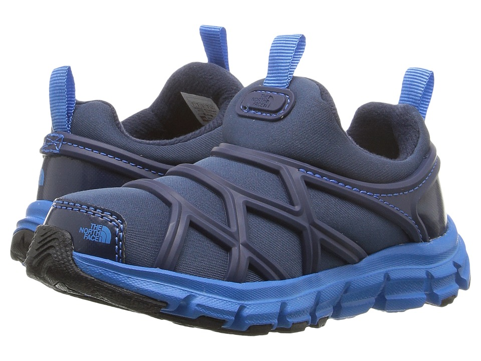 The North Face Kids - Litewave Slip-On WP (Toddler/Little Kid) (Shady Blue/Blue Aster) Boys Shoes