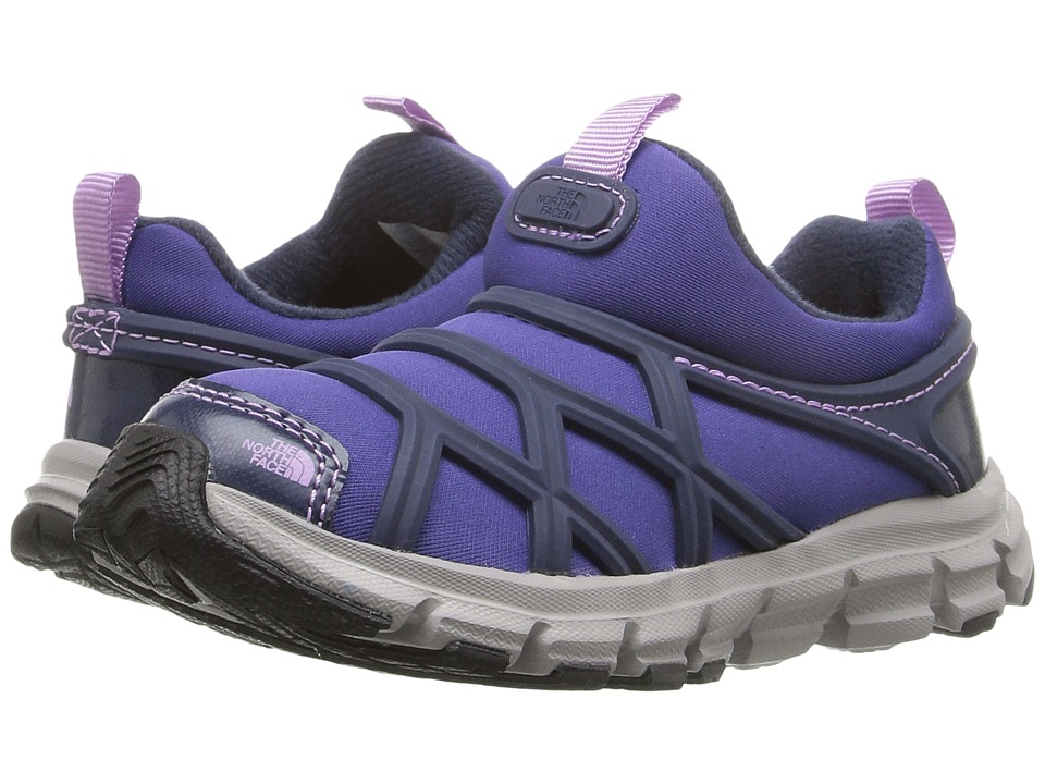 The North Face Kids - Litewave Slip-On WP (Toddler/Little Kid) (Inauguration Blue/Lupine) Girls Shoes