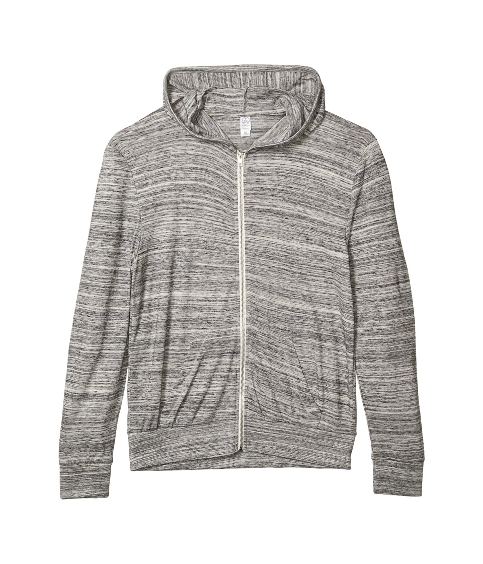Alternative - Eco Zip Hoodie (Urban Grey) Men's Sweatshirt
