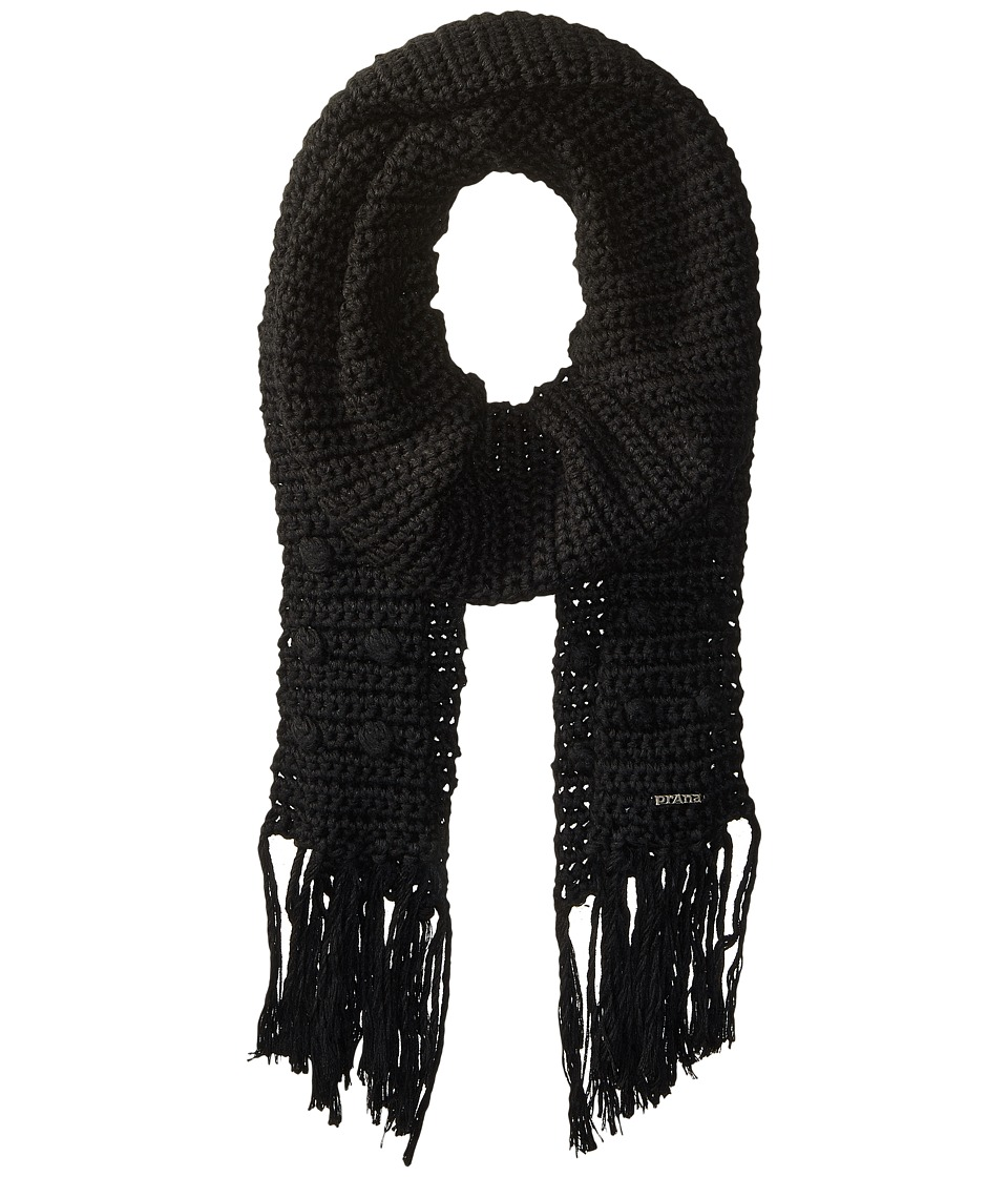 Prana - Pammy Scarf (Black) Scarves