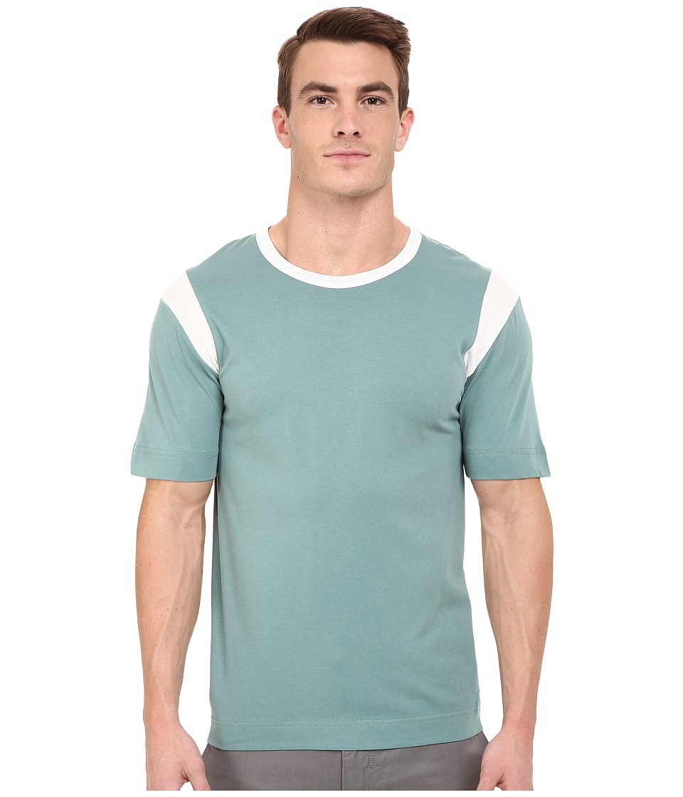 Alternative - Cotton Modal Rucker Park T-Shirt (Green Surf) Men's T Shirt