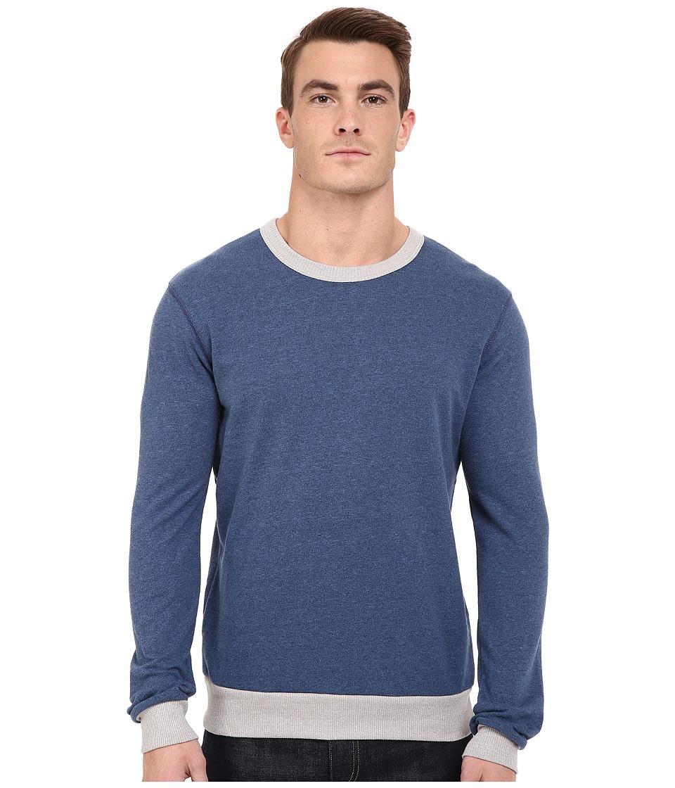 Alternative - Eco Mock Twist French Terry Ringer Champ (Eco Mock Midnight) Men's Sweatshirt