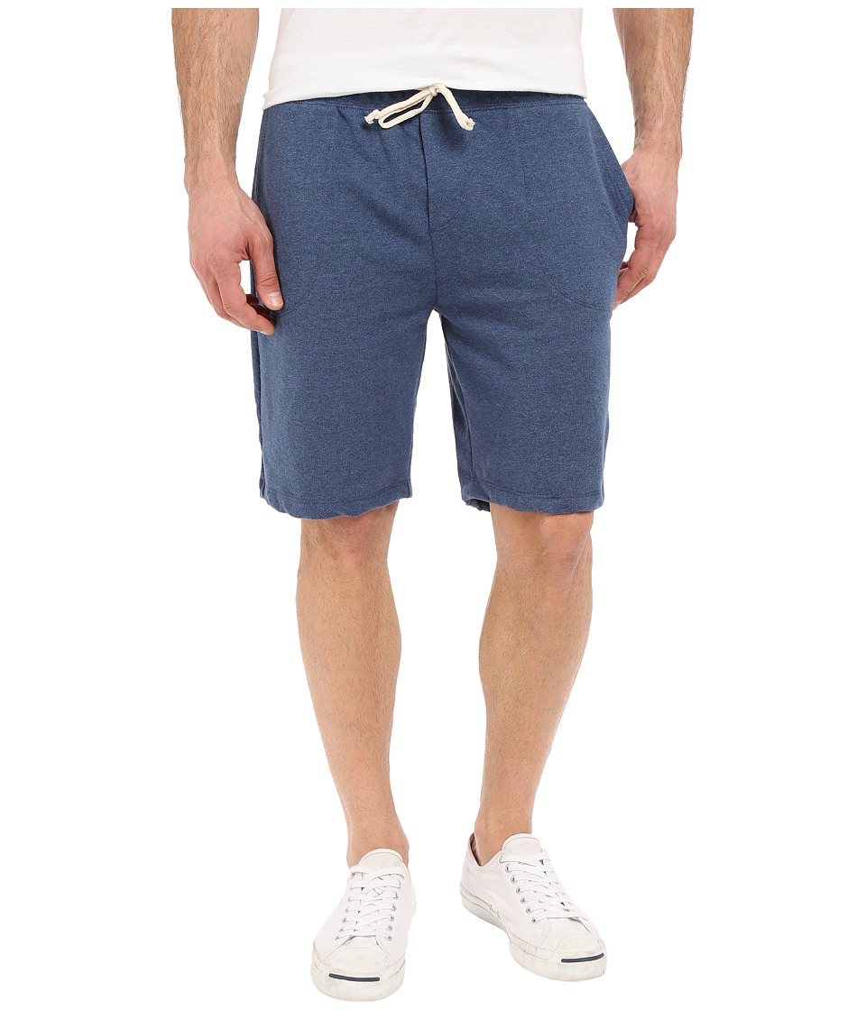 Alternative - Eco Mock Twist French Terry Triple Double Shorts (Eco Mock Midnight) Men's Shorts