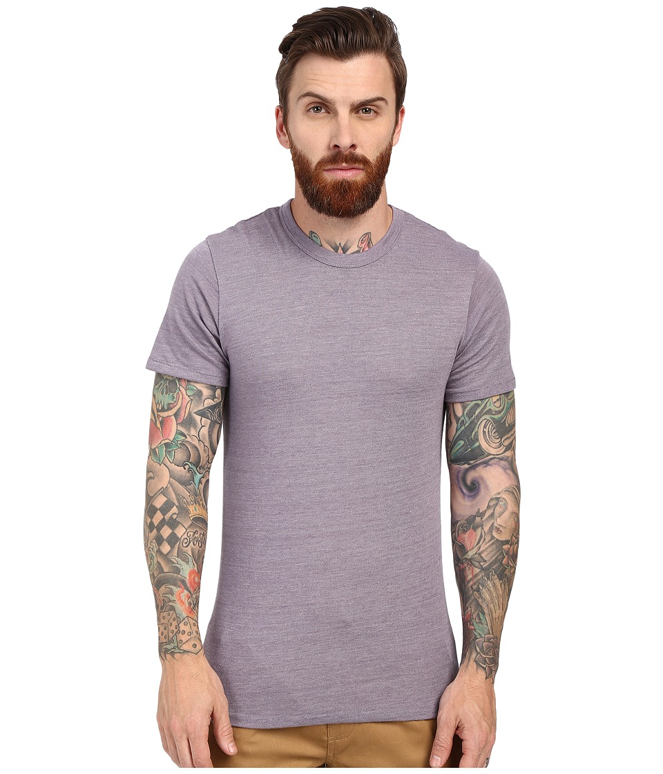 Alternative - S/S Crew Tee (Eco True Purple Dusk) Men's T Shirt