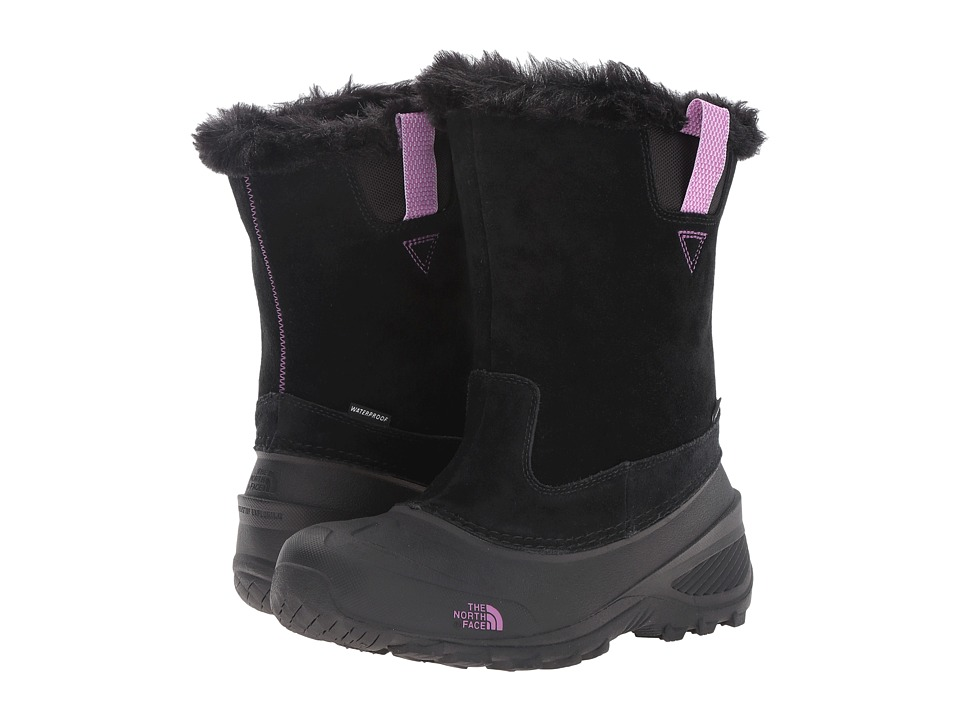 The North Face Kids Shellista Pull-On II (Toddler/Little Kid/Big Kid) (TNF Black/Lux Purple) Girls Shoes