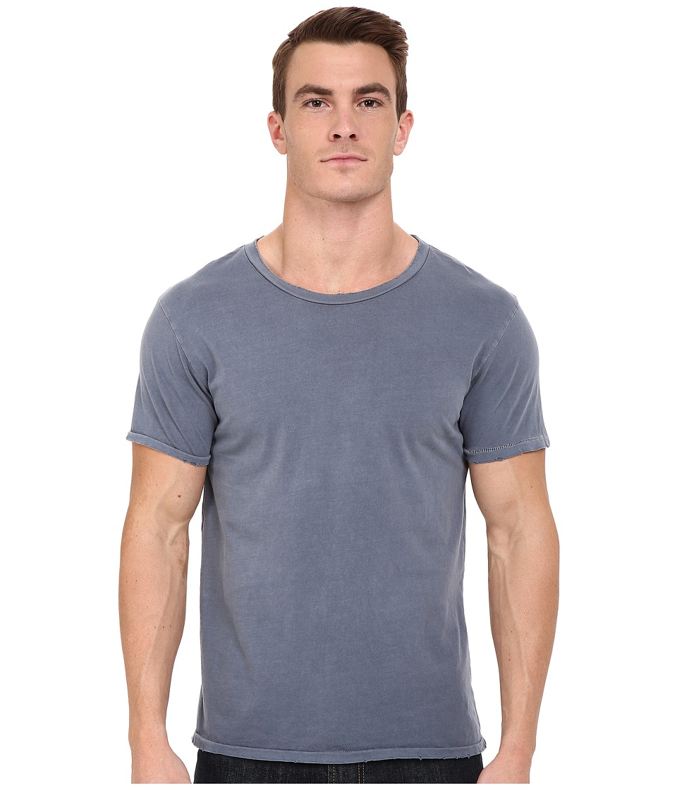 Alternative - Distressed Heritage Tee (Dark Blue Pigment) Men's T Shirt