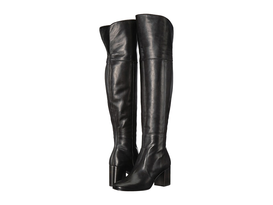 Frye - Jodi Over-The-Knee (Black Soft Calf Leather) Women's Boots