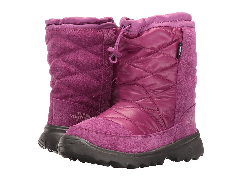 The North Face Kids - Winter Camp Waterproof (Little Kid/Big Kid) (Lux Purple/Wisteria Purple) Girls Shoes