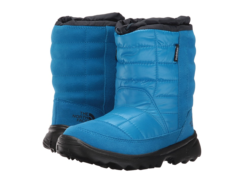The North Face Kids Winter Camp Waterproof (Little Kid/Big Kid) (Blue Aster/Cosmic Blue) Girls Shoes