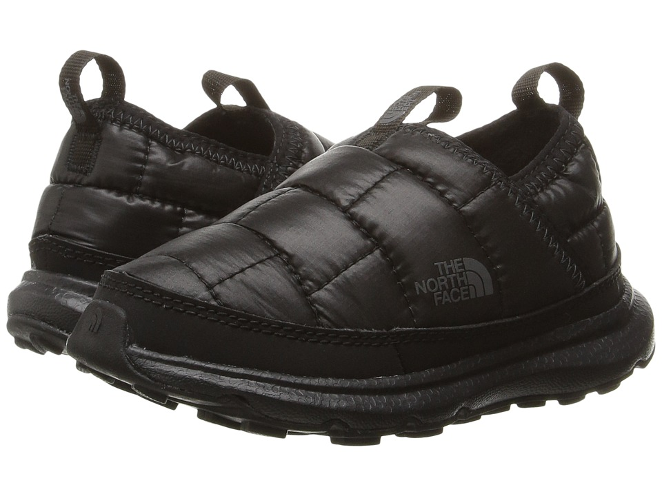 The North Face Kids - Thermal Tent Mule (Toddler/Little Kid/Big Kid) (TNF Black/Dark Shadow Grey) Boy's Shoes