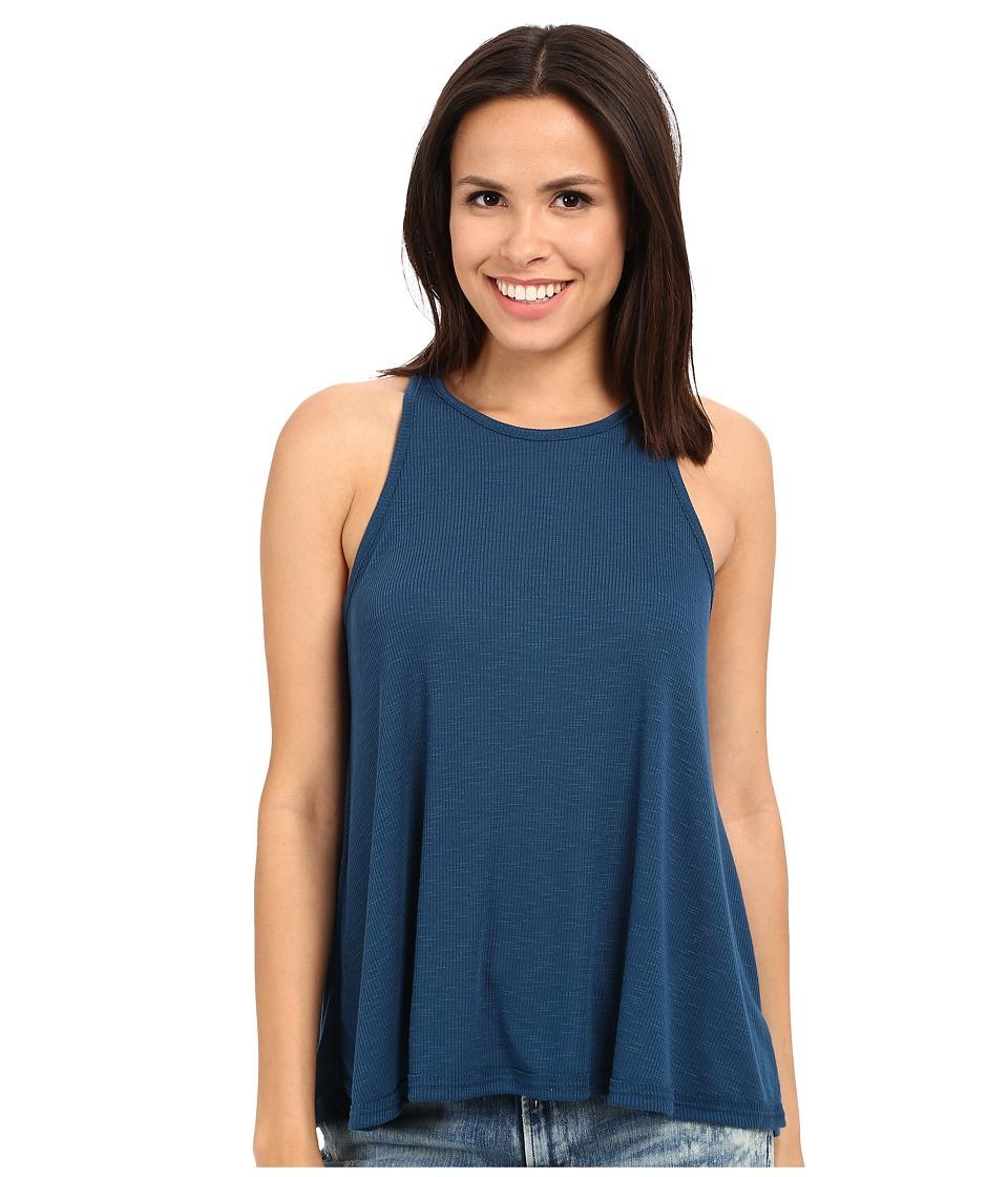 Free People - Long Beach Tank (French Blue) Women's Sleeveless
