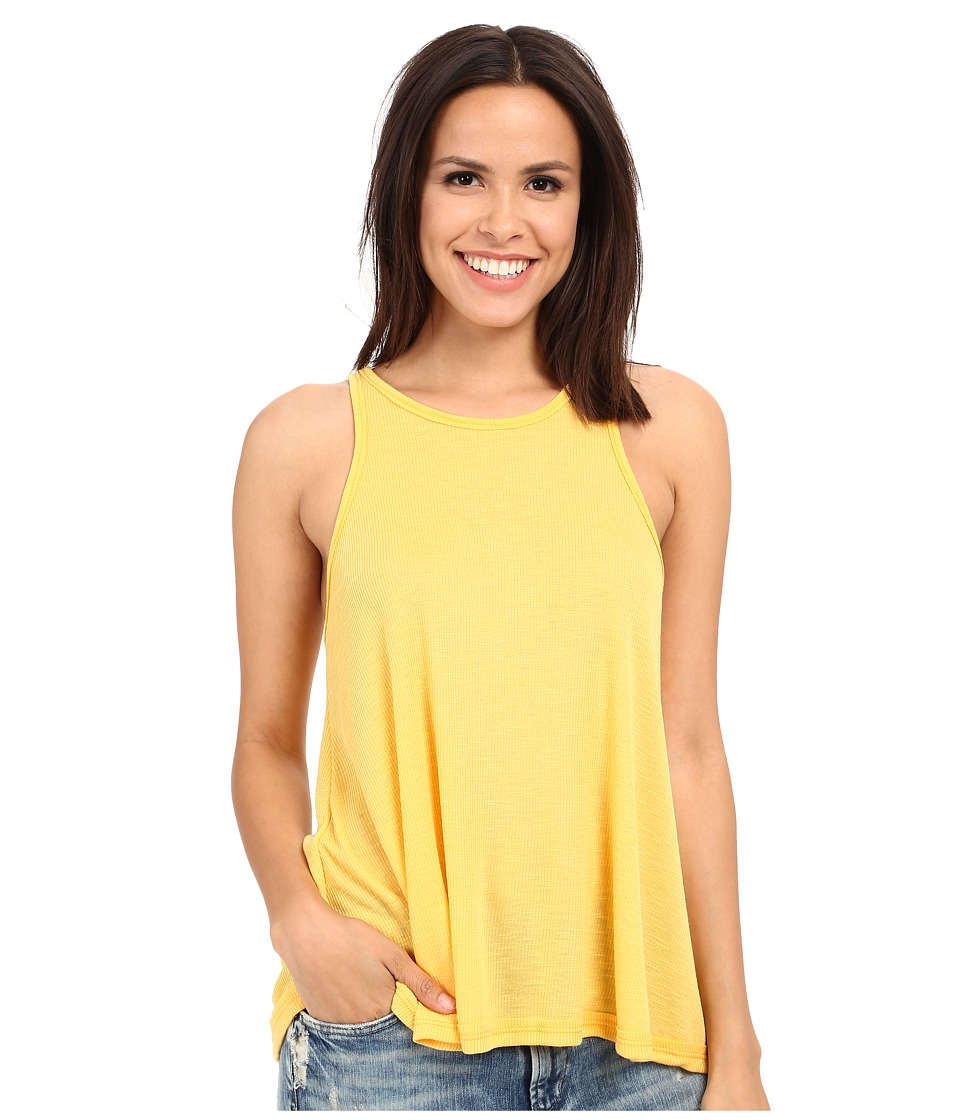 Free People - Long Beach Tank (Buttercup) Women's Sleeveless