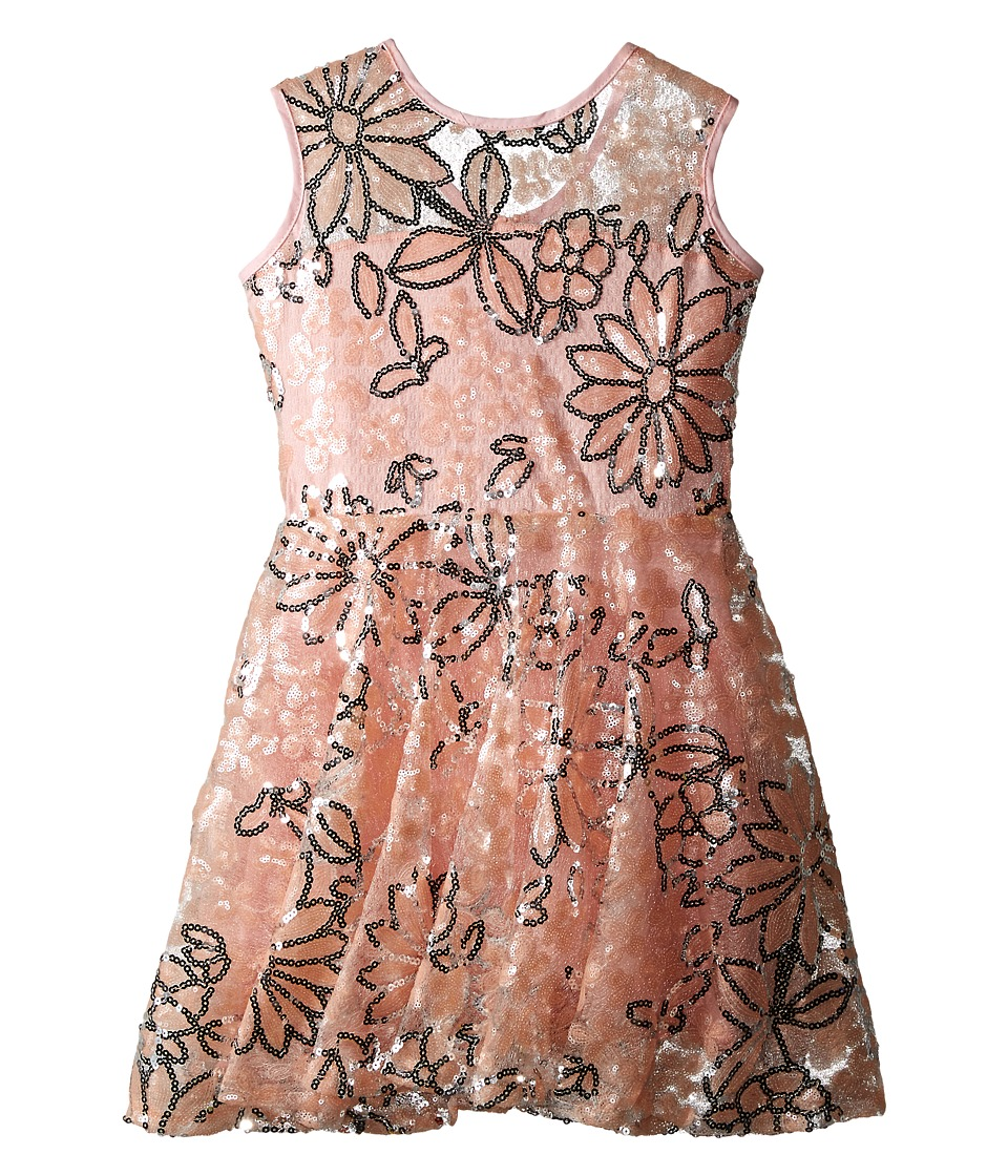 fiveloaves twofish - Daisy's Sequin Dreamer Dress (Big Kids) (Pink) Girl's Dress