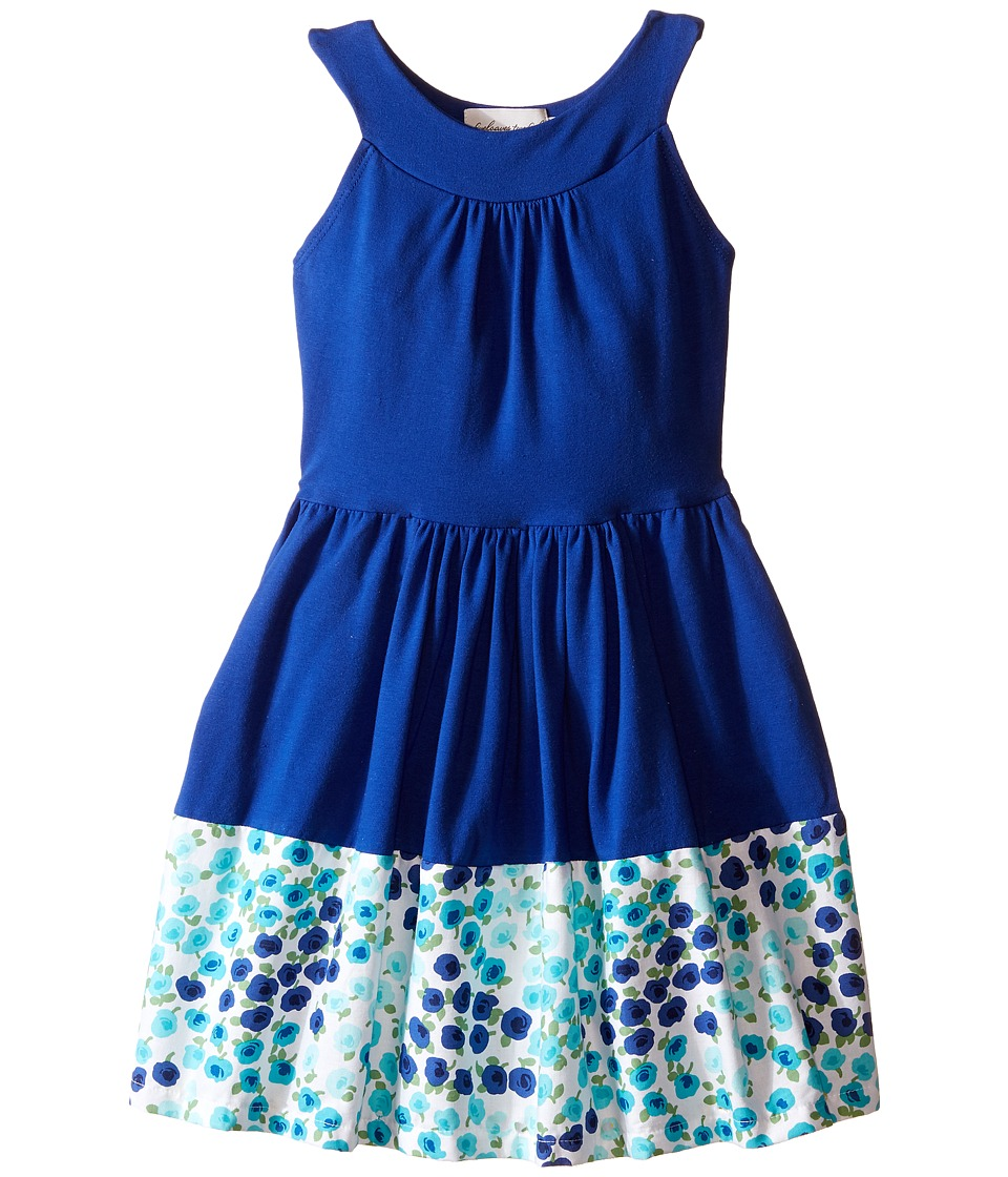 fiveloaves twofish - Unstoppable Dress (Little Kids/Big Kids) (Blue) Girl's Dress