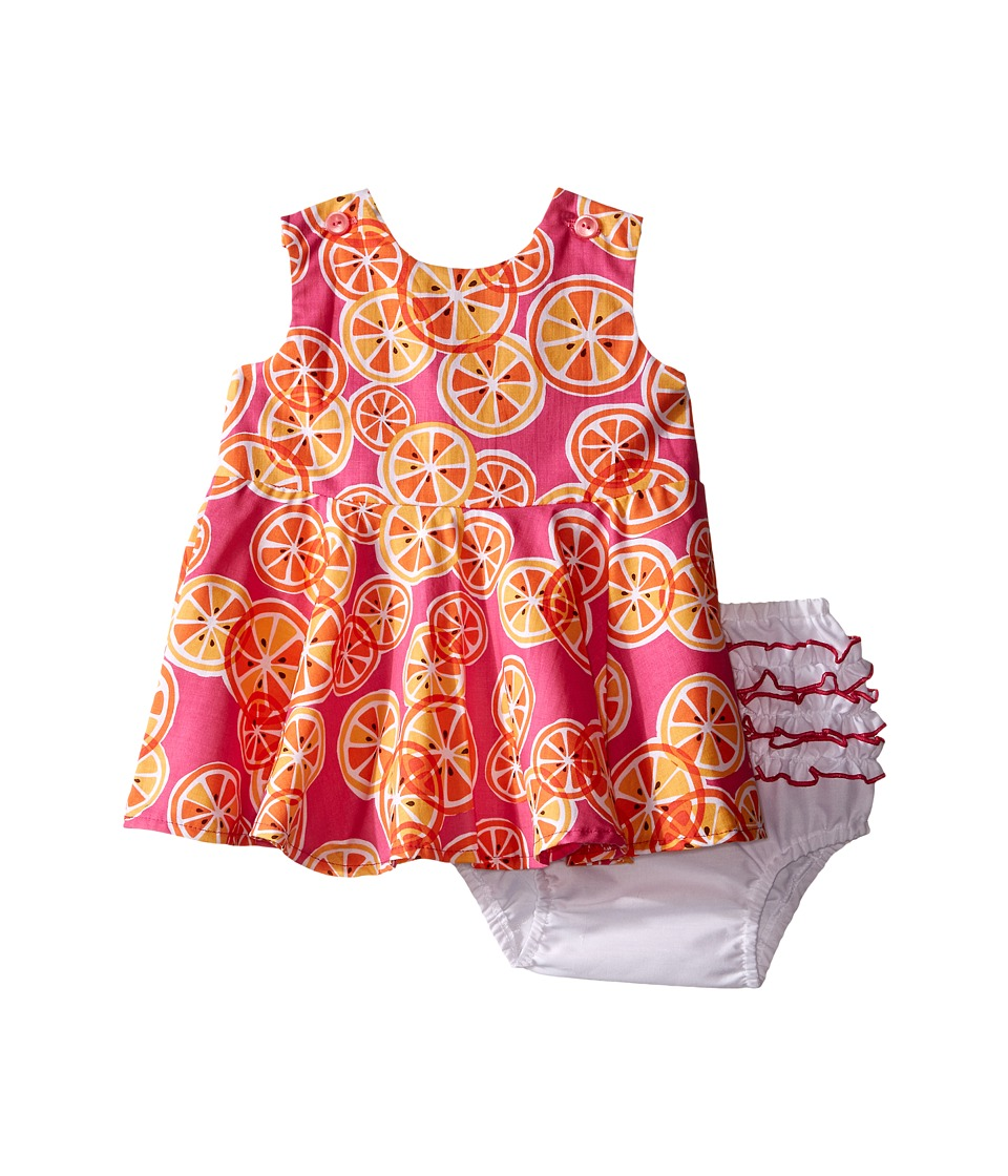 fiveloaves twofish - Squeeze Me Dress (Infant) (Hot Pink) Girl's Dress