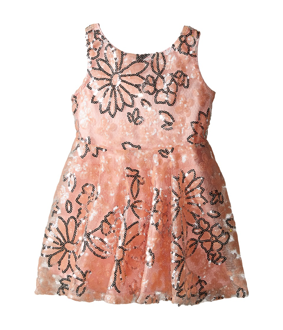 fiveloaves twofish - Sparkle Daisy (Toddler/Little Kids) (Pink) Girl's Dress