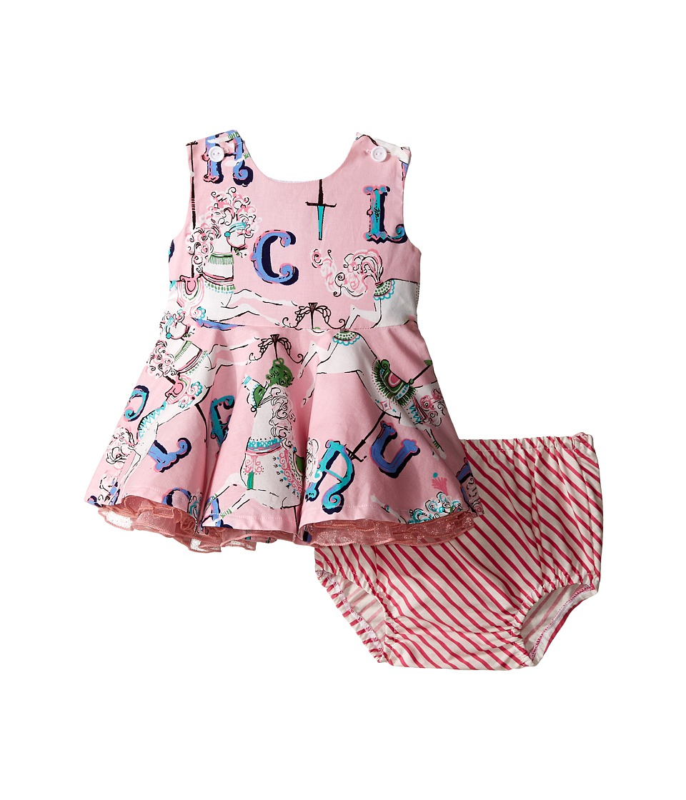 fiveloaves twofish - Carousel Dress (Infant) (Pink) Girl's Dress