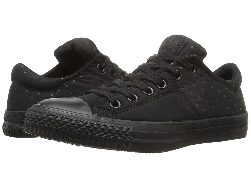 Converse - Chuck Taylor All Star Madison Neoprene Ox (Black/Black/Black) Women's Lace up casual Shoes