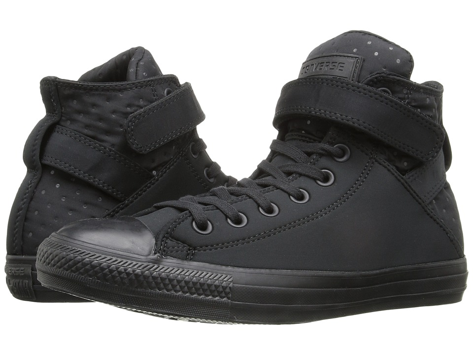Converse - Chuck Taylor All Star Brea Neoprene Hi (Black/Black/Black) Women's Lace up casual Shoes