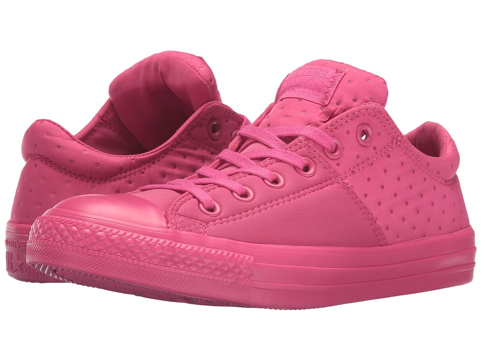 Converse - Chuck Taylor All Star Madison Neoprene Ox (Vivid Pink/Vivid Pink/Vivid Pink) Women's Lace up casual Shoes