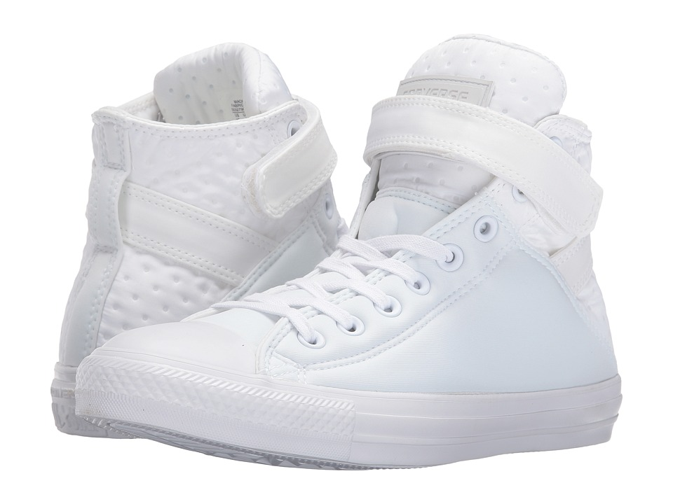 Converse - Chuck Taylor All Star Brea Neoprene Hi (White/White/White) Women's Lace up casual Shoes