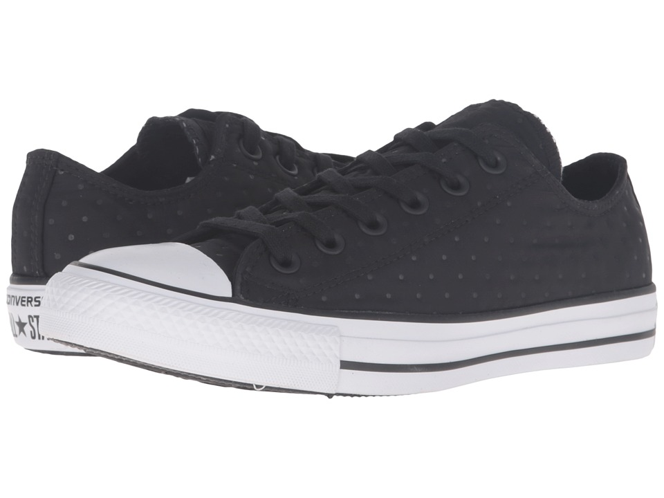 Converse - Chuck Taylor All Star Neoprene Ox (Black/Black/White) Women's Lace up casual Shoes