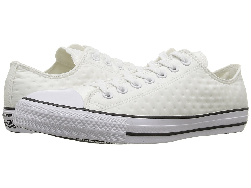 Converse - Chuck Taylor All Star Neoprene Ox (White/Black/White) Women's Lace up casual Shoes