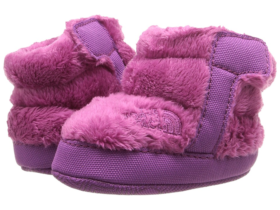 The North Face Kids NSE Fleece Bootie (Infant/Toddler) (Lux Purple/Wisteria Purple) Girls Shoes